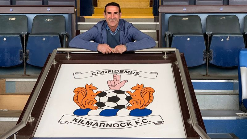 Kilmarnock appoint Angelo Alessio as manager