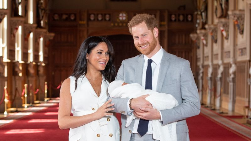 The Reaction To Prince Harry And Meghan Markle's Picture Of Their Son Is Not Okay