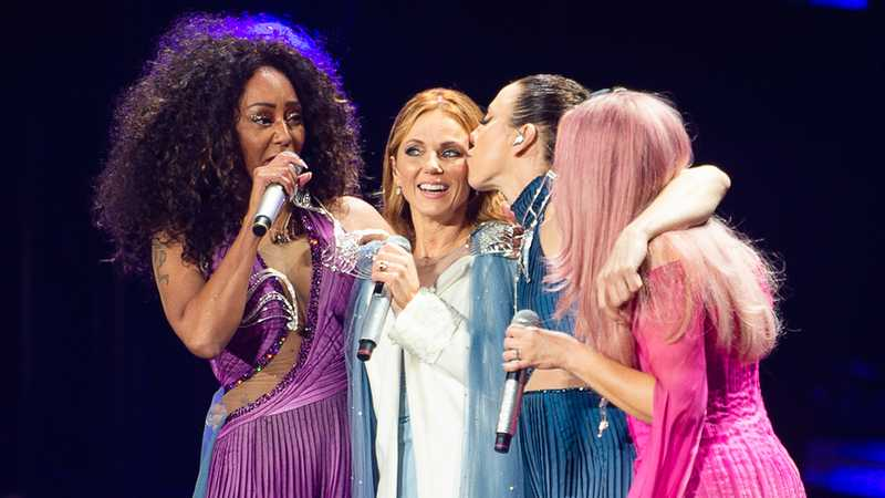 Geri Horner apologises for leaving the Spice Girls at final Wembley Stadium show