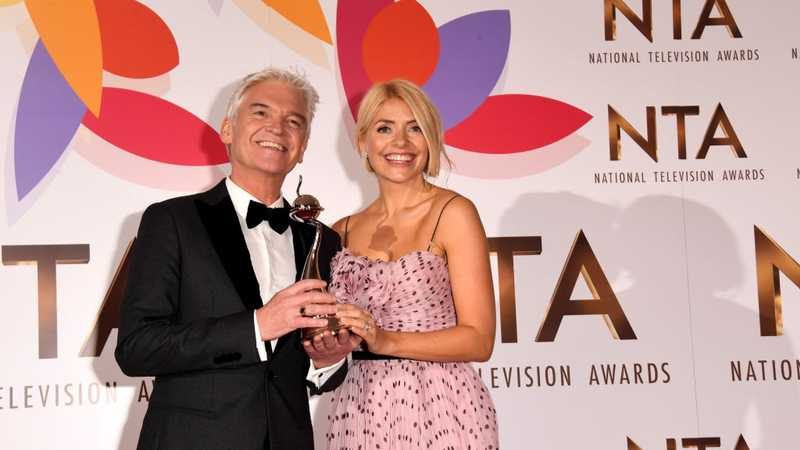 Holly Willoughby posts tribute to Phillip Schofield