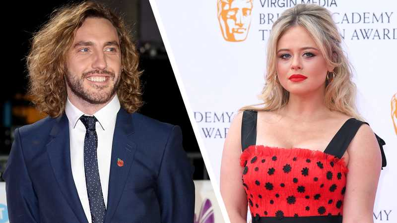 Picture of Seann Walsh and Emily Atack in bed together leaked
