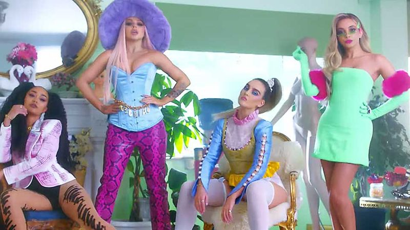 Little Mix's retro 'Bounce Back' video gets 8 million views in just three days