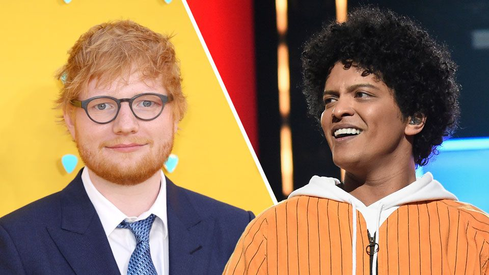Ed Sheeran channels Bruno Mars in new pic but Bruno isn't
