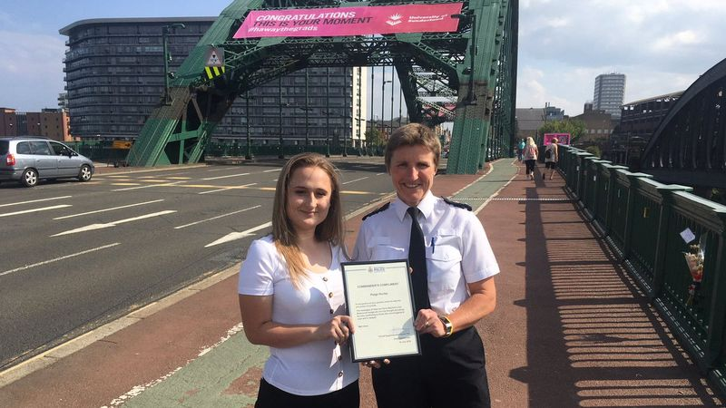 Sunderland teen welcomes plans to put messages of hope on city's bridges