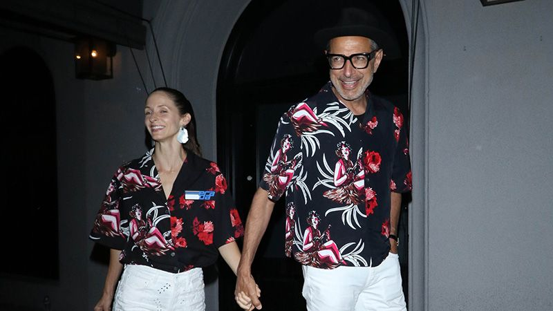 Jeff Goldblum And His Wife Just Reinvented Couples Dressing For 2019