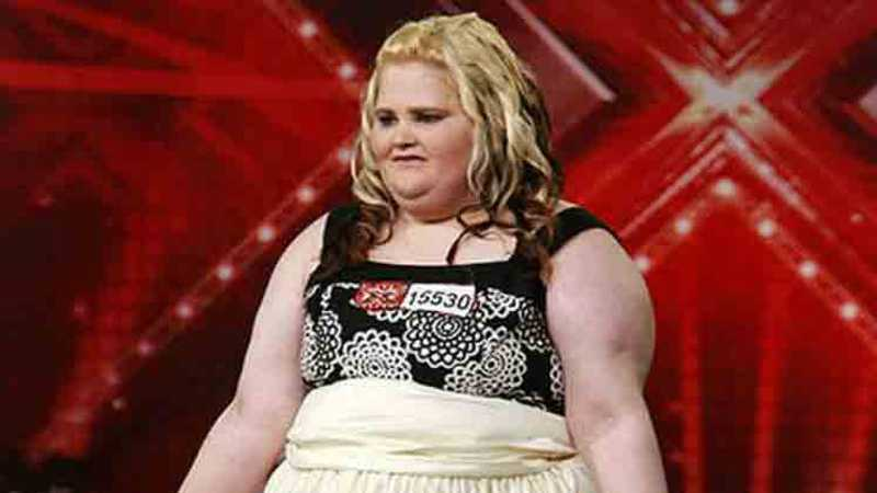X Factor's Emma Chawner loses 12 STONE in two years