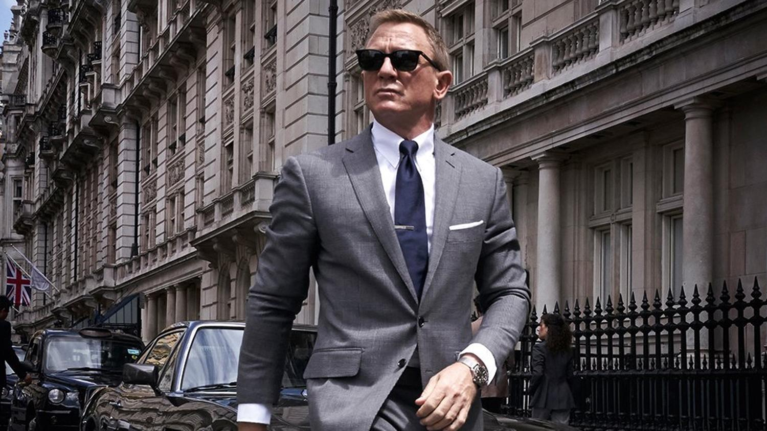 James Bond movie now filming in London