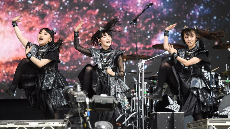Babymetal announce UK tour and perform with rumoured new member at Glastonbury