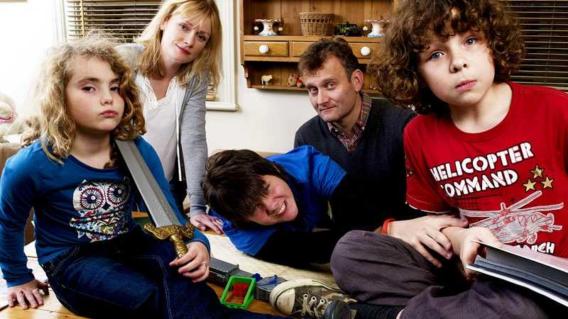 The child actors from Outnumbered have had a reunion