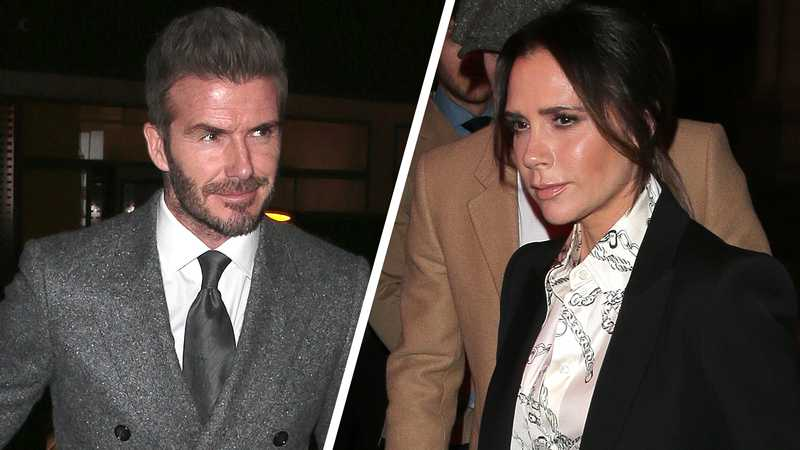 Why are the Beckhams falling out over their children?