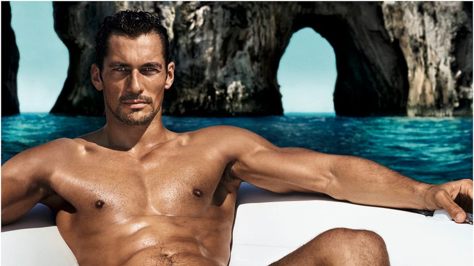 David Gandy On Spray Tans, Holidays With His Girlfriend And David Attenborough | Grazia