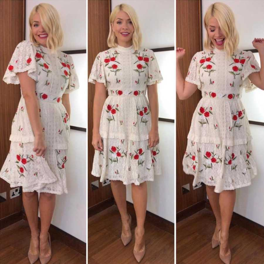 136a982396cd Holly Willoughby: All her clothes from This Morning and where to get ...