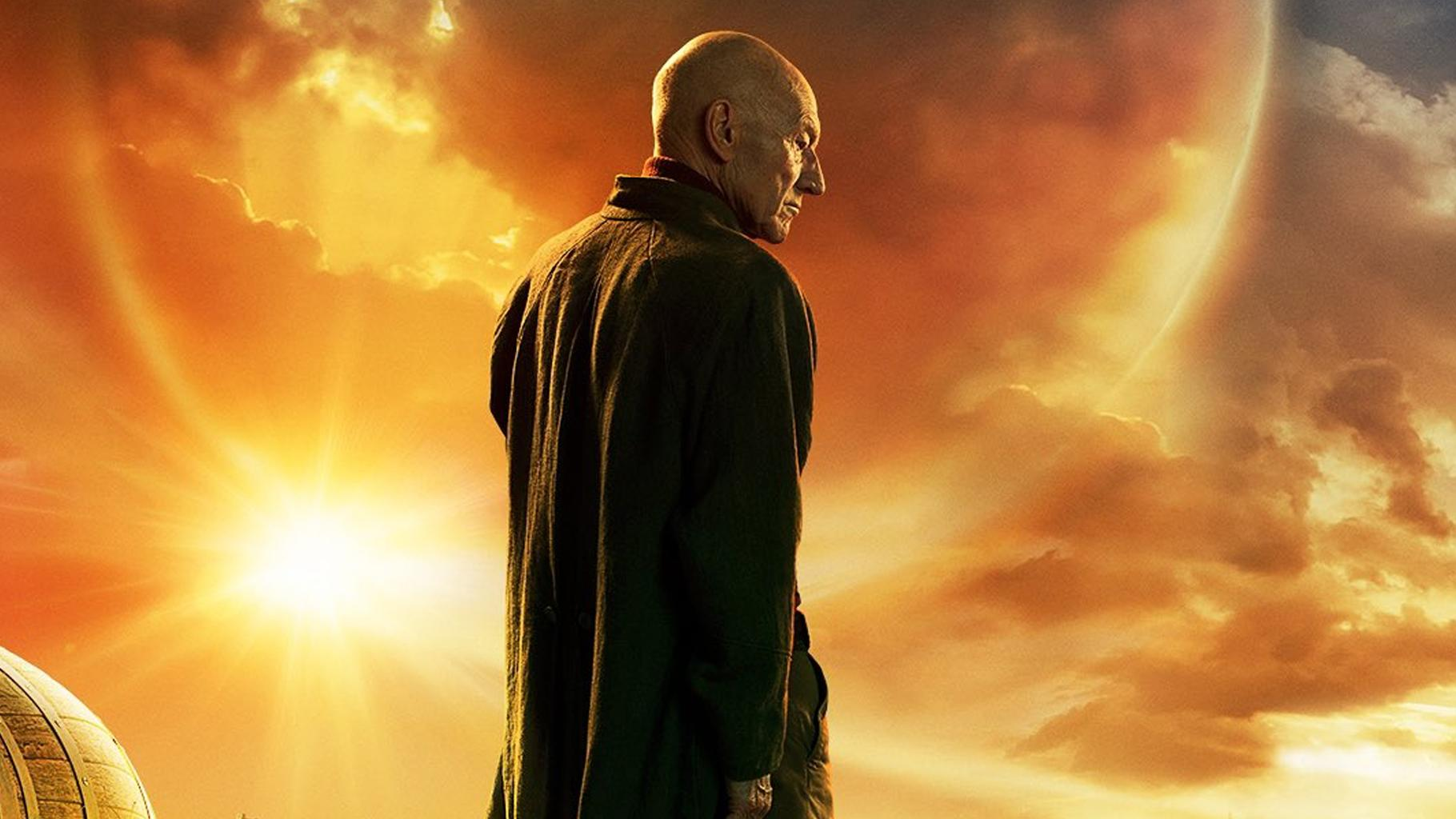 'Star Trek: Picard': Patrick Stewart Returns in New Key Art