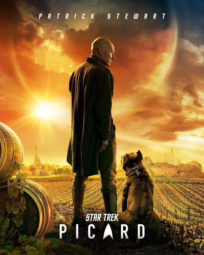 Star Trek: Picard Poster Reveals New Look At Patrick Stewart's Return