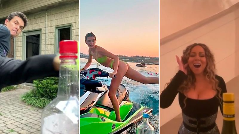All Of The Best Celebrity Bottle Cap Challenges