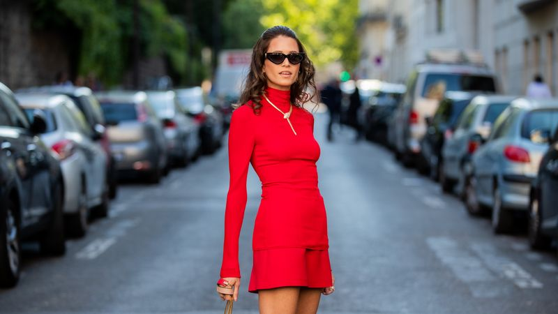 Here's how to wear a minidress the grown-up way this summer.