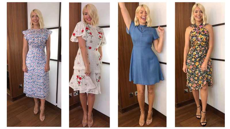604cd3e8b5b98 Holly Willoughby: All her clothes from This Morning and where to get it  cheaper on the high street | Closer