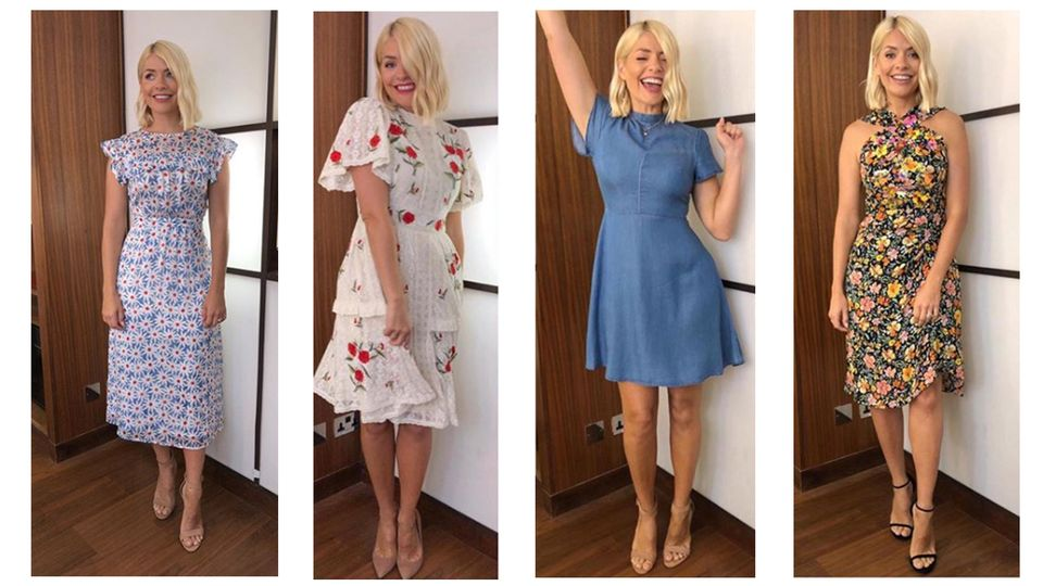 Holly Willoughby All Her Clothes From This Morning And Where To Get