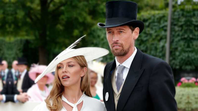 Peter Crouch reveals real name of fourth child with Abbey Clancy