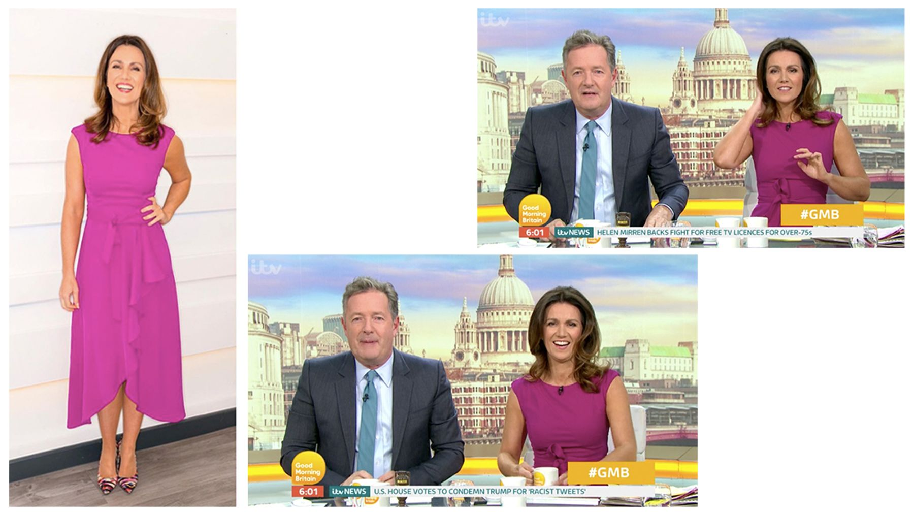 Susanna Reid's outfits from Good Morning Britain - and where to buy
