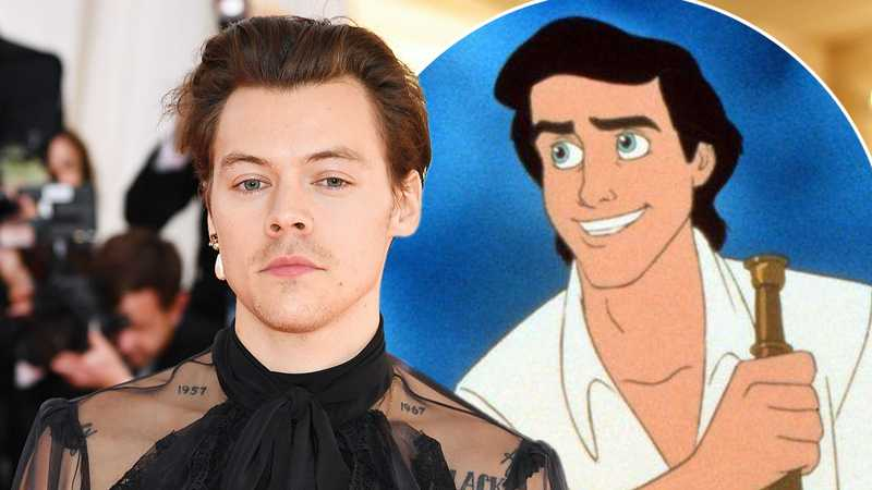 Harry Styles 'set to play' Prince Eric