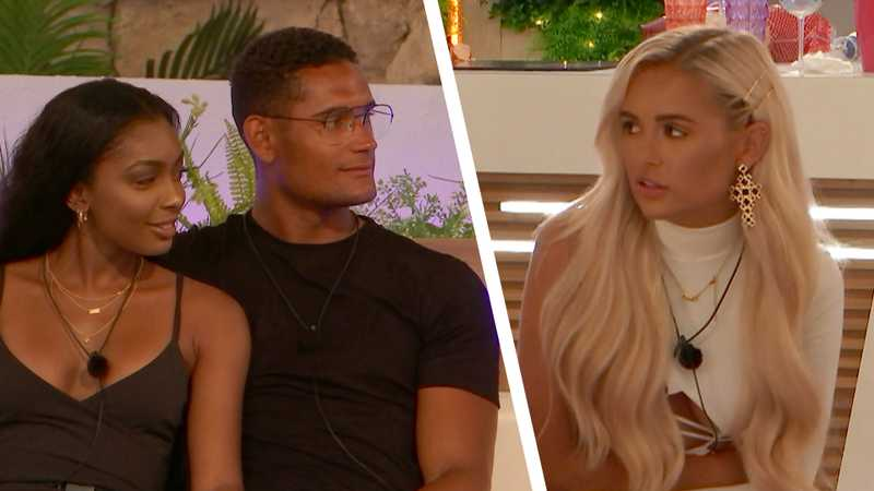 Love Island: Jourdan and Danny brand Molly-Mae Hughes 'muggy'