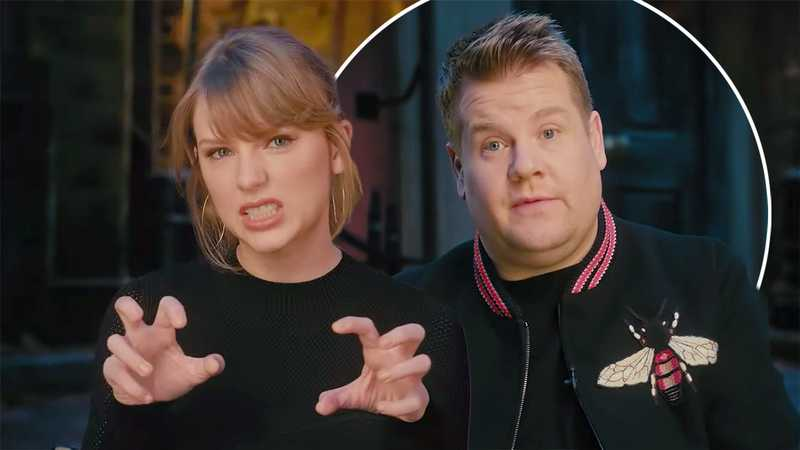 Taylor Swift and James Corden lead star-studded cast for film version of Cats musical
