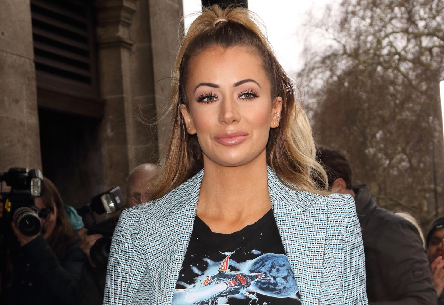 TOWIE's Olivia Attwood slips into