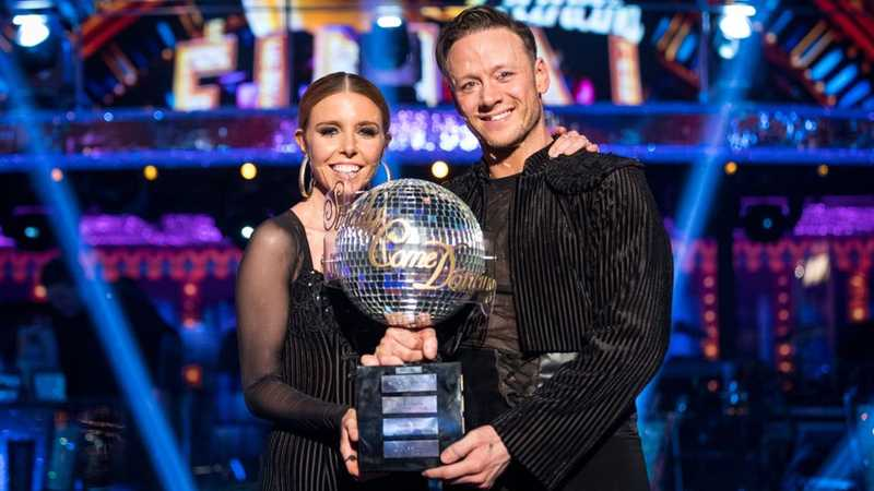 Kevin Clifton on Stacey Dooley