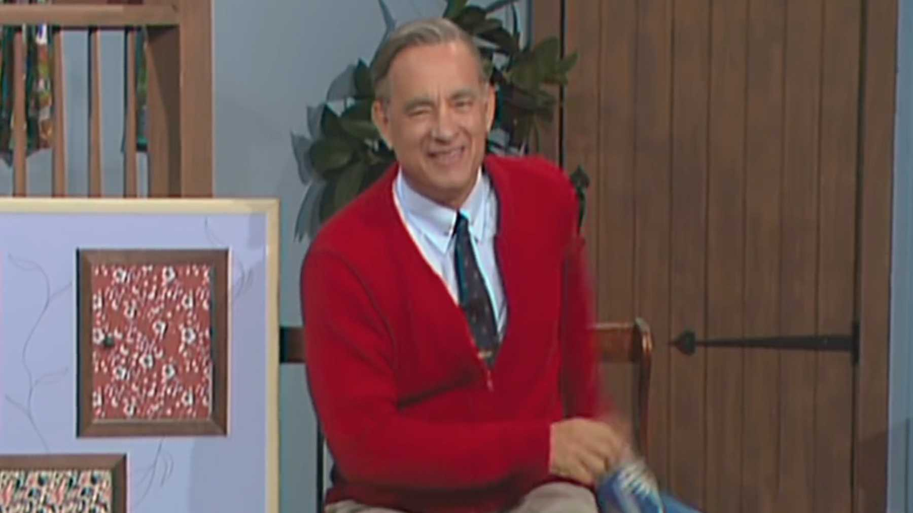 Tom Hanks Is Mr Rogers In A Be...