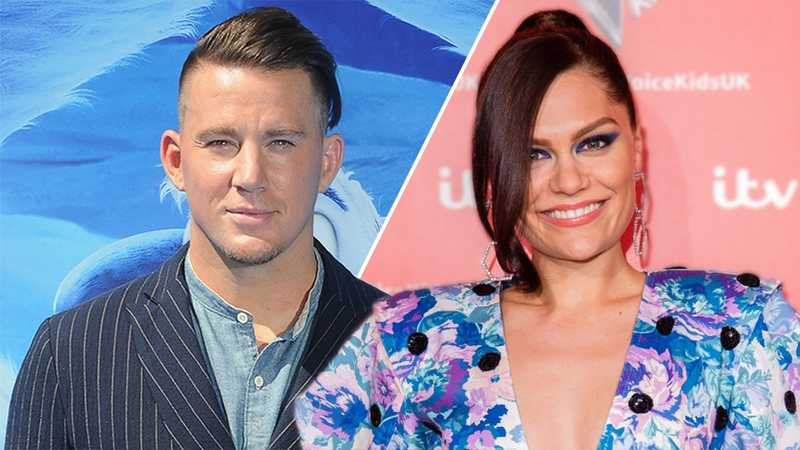 Jessie J date night with Channing Tatum