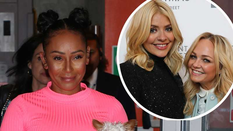 Emma Bunton and Holly Willoughby snogged on night out, says Mel B