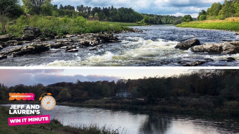 Win it Minute: Which river is further north of Aberdeen City Centre?