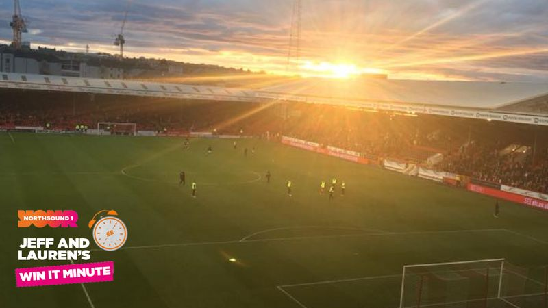 Win it Minute: Do you know how many seats are in Pittodrie?