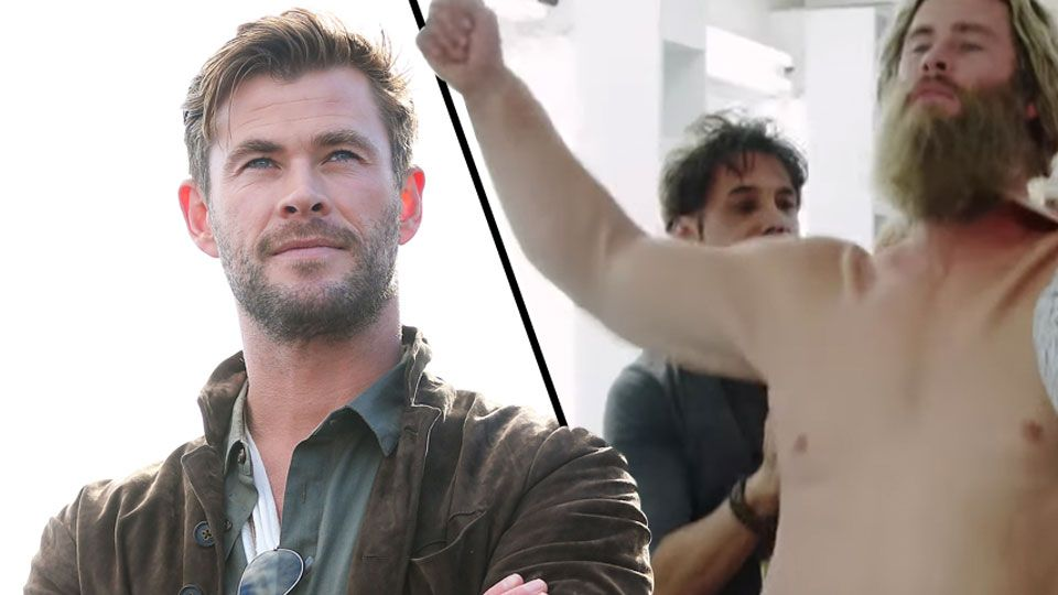 Behind The Scenes Video Shows Avengers Star Chris Hemsworth