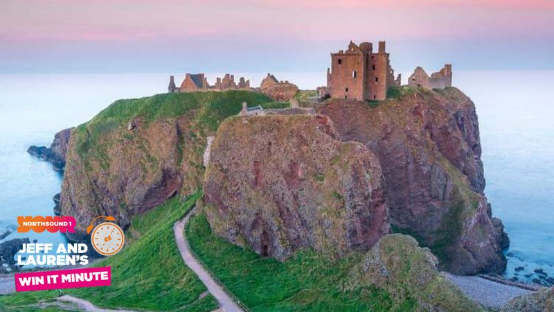 Win it Minute: What is the name of the castle directly south of Stonehaven?