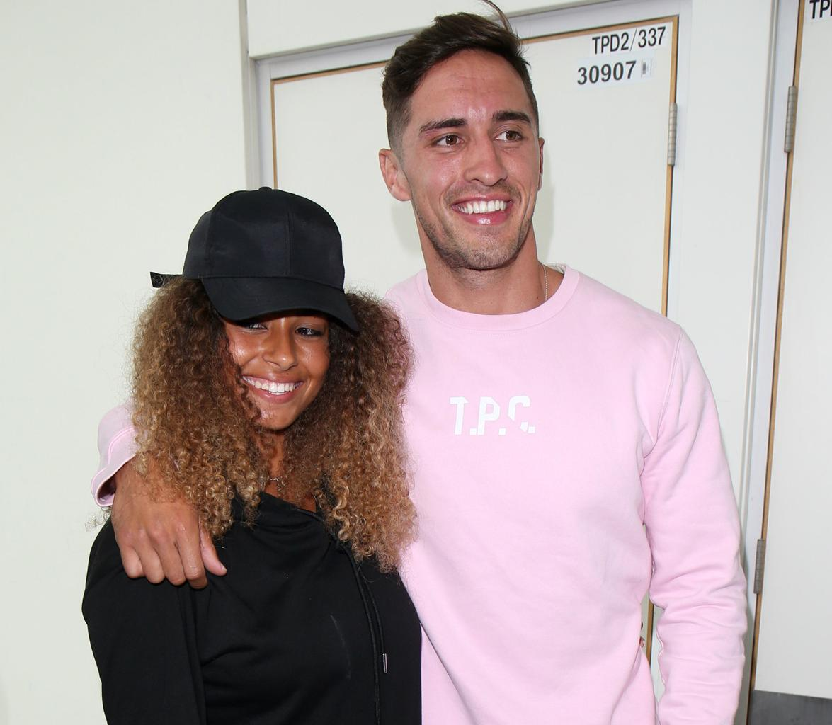 Love Island victor Amber Gill celebrates 22nd birthday with Greg O'Shea