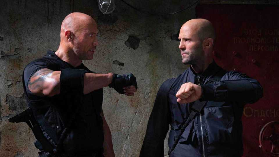 Hobbs & Shaw Muscles Its Way To The Top Of The US Box Office