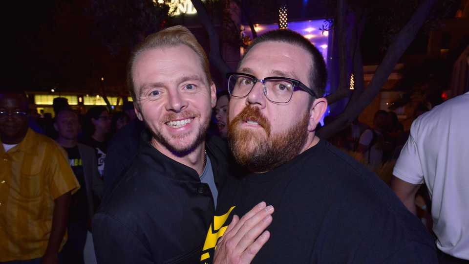 Simon Pegg And Nick Frost Head Back To TV With Truth Seekers