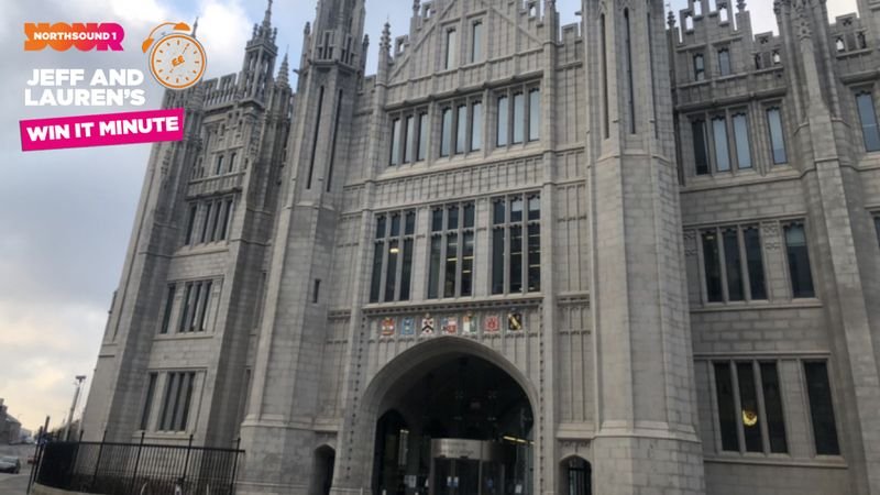 Win it Minute: On which street would you find Marischal College?