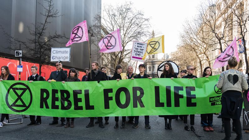 Extinction Rebellion Will 'Shut Down' London Fashion Week With Protests