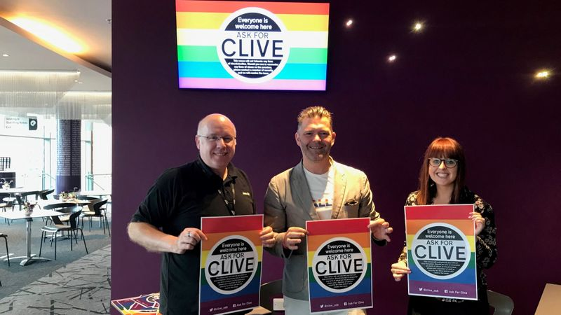 Ask For Clive: Anti-homophobia campaign launches in major Birmingham venues