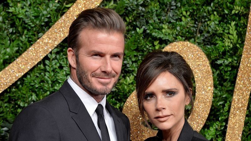 David And Victoria Beckham Are Still Ultimate Couple Goals In Matching Outfits
