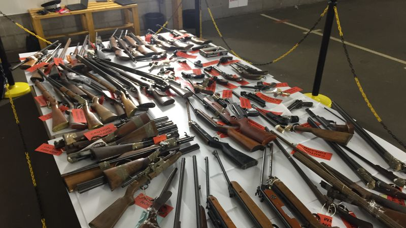 112 weapons surrendered to Cumbria Police during FIREARM amnesty