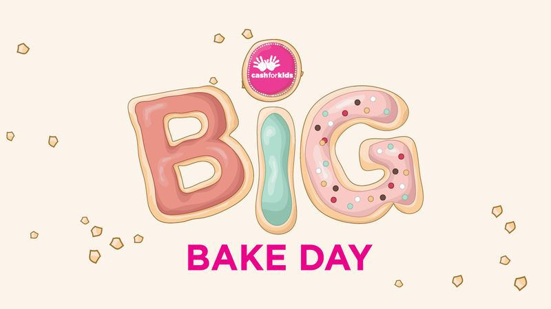 Get your Bake Off on for Cash for Kids!