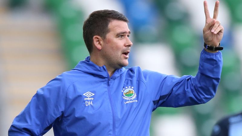 'We want giant steps' Healy urges his Linfield side to think big as they prepare for Europa play-off spot