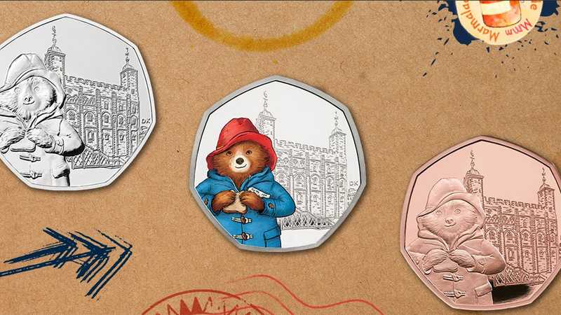 New Paddington Bear 50p coins have entered circulation