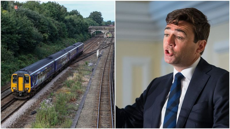 Andy Burnham: 'North needs to be a priority' for rail investment