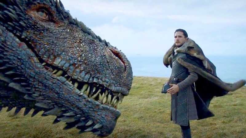 Game of Thrones' Kit Harington AKA Jon Snow hated filming dragon scenes