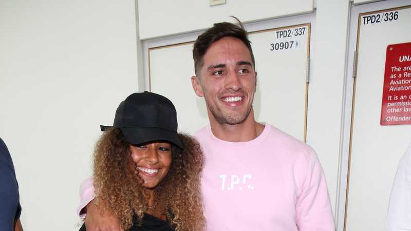 Love Island's Amber Gill and Greg O'Shea look super loved-up in Ireland